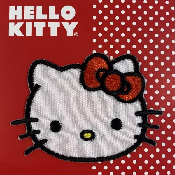 Hello Kitty ansikt - Strykemerke