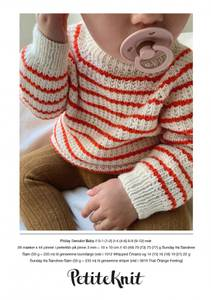 Bilde av PetiteKnit - Friday Sweater Baby - Garnpakke