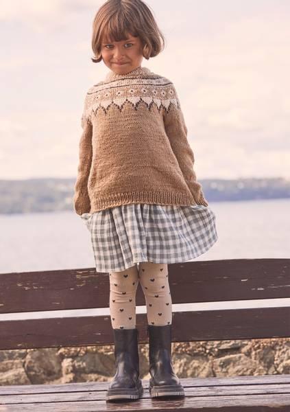 Guro genser barn - Garnpakke