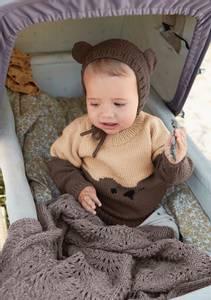 Bilde av Bjørnegenser Baby - Garnpakke
