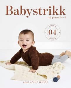 Bilde av Babystrikk på pinde 3,5-4 Hefte 04